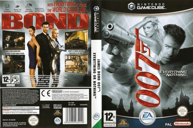 James Bond 007: Everything or Nothing GENP69 James Bond 007 Everything Or Nothing