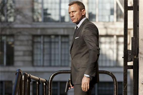 James Bond movie scenes Daniel Craig stars as James Bond in SkyfallSkyfall