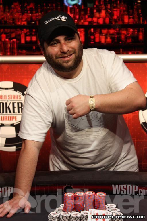 James Bord WSOP Europe James Bord Wins Main Event