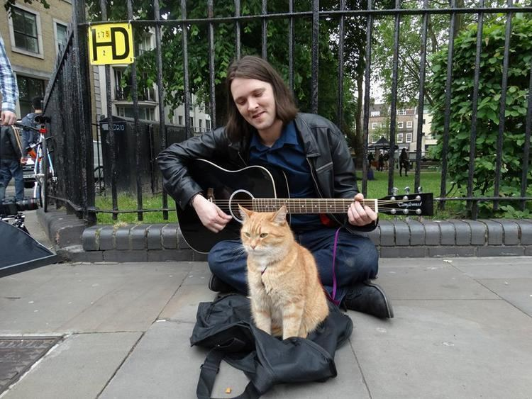 James Bowen (author) Exclusive Interview with James Bowen Author of A Street