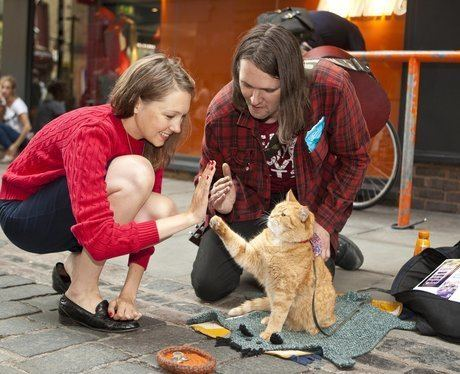 James Bowen (author) Bob the cat has turned his fortunes around with companion