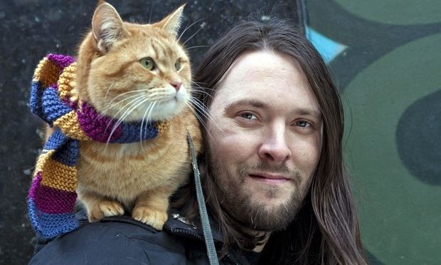 James Bowen (author) Bob the Street Cat books top 1m copies in UK Books The