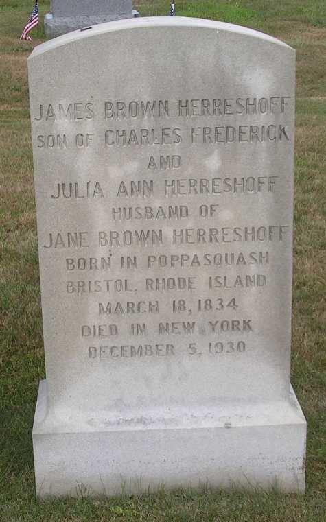 James Brown Herreshoff James Brown Herreshoff 1834 1930 Find A Grave Memorial