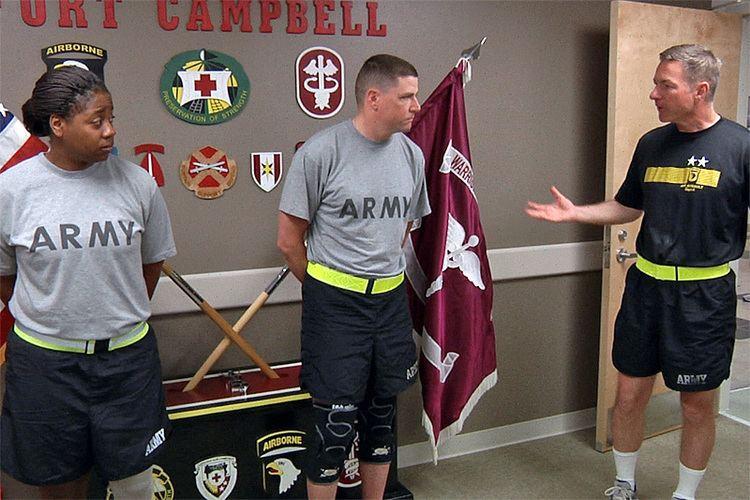 James C. McConville Fort Campbells Major General James C McConville recognizes Wounded