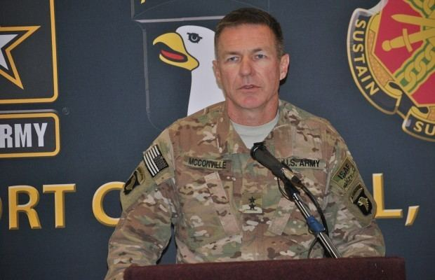James C. McConville Maj Gen McConville nominated for promotion in Washington