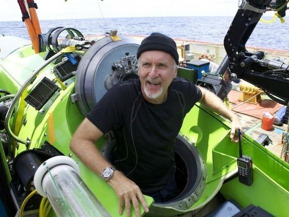 James Cameron (scientist) James Cameron Donates Sub to Science Mariana Trench