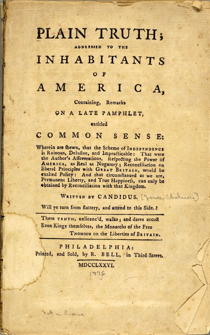 James Chalmers (loyalist) wwwamericanantiquarianorgExhibitionsReading3