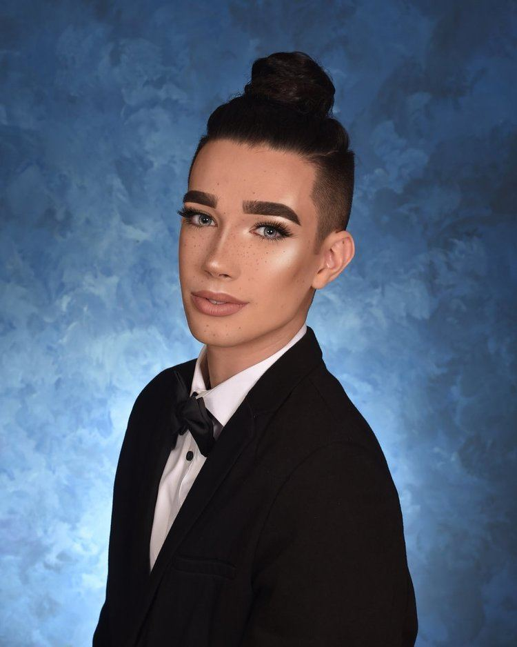 James Charles (model) CoverGirl names makeup artist James Charles its first cover boy