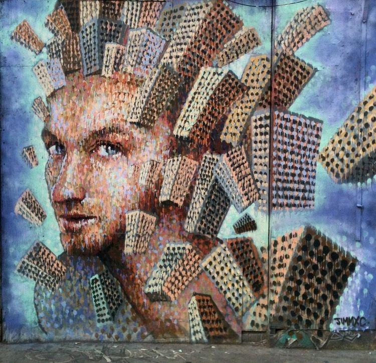 James Cochran (artist) Interview Jimmy C James Cochran street art united states