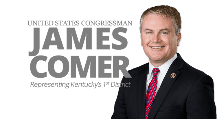 James Comer (politician) Congressman James Comer Representing the 1st District of Kentucky
