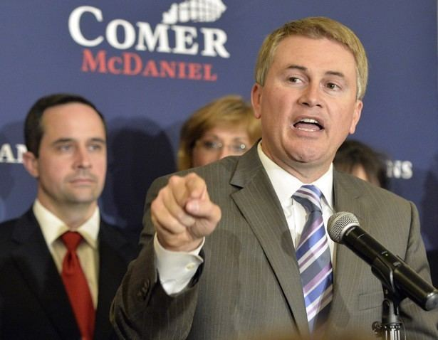 James Comer (politician) After NearMiss in Kentucky Governors Race James Comer Tries a