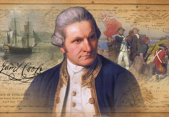 James Cook James Cook Finding Your Way HistoryGeography 4
