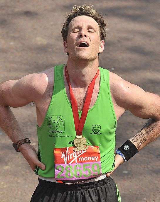 James Cracknell James Cracknell beats the odds to complete the London Marathon