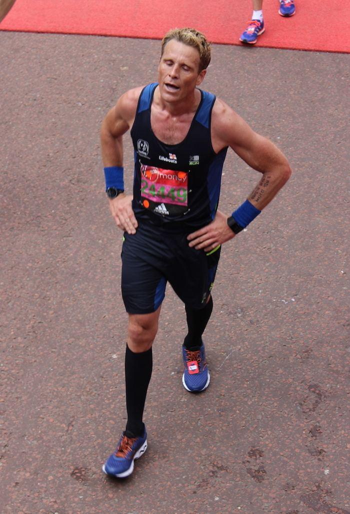 James Cracknell Did James Cracknell run the perfect marathon Analysis Tri247com