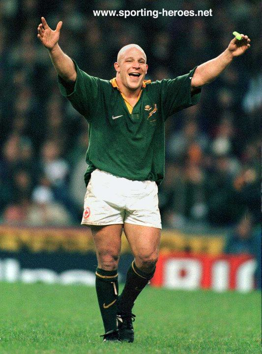 James Dalton (rugby player) James Dalton South African Caps 199402 South Africa