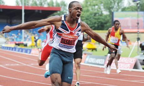 James Dasaolu James Dasaolu runs second fastest 100m in history by
