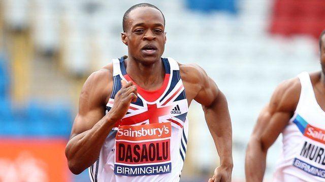 James Dasaolu James Dasaolu runs 991 seconds at World Trials in