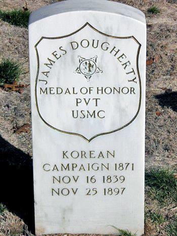 James Dougherty (Medal of Honor) imnohero James Dougherty USMC Medal of Honor Front Toward Enemy