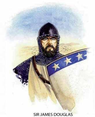 James Douglas, Lord of Douglas Battle of Teba Battle cry of A Bruce A Bruce Spain Info