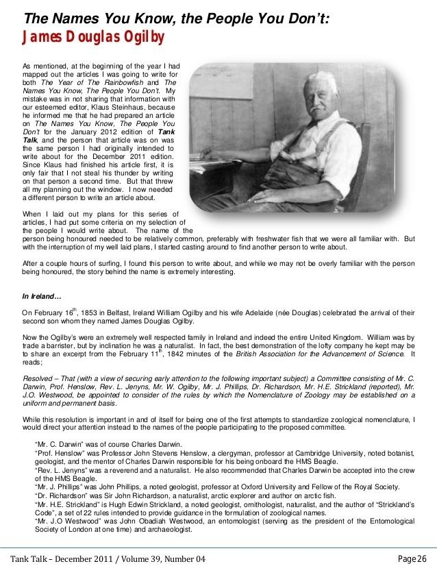 James Douglas Ogilby 075 The Names You Know The People You Dont James Douglas Ogilby