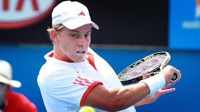 James Duckworth (tennis) Australian young guns Matthew Ebden and James Duckworth