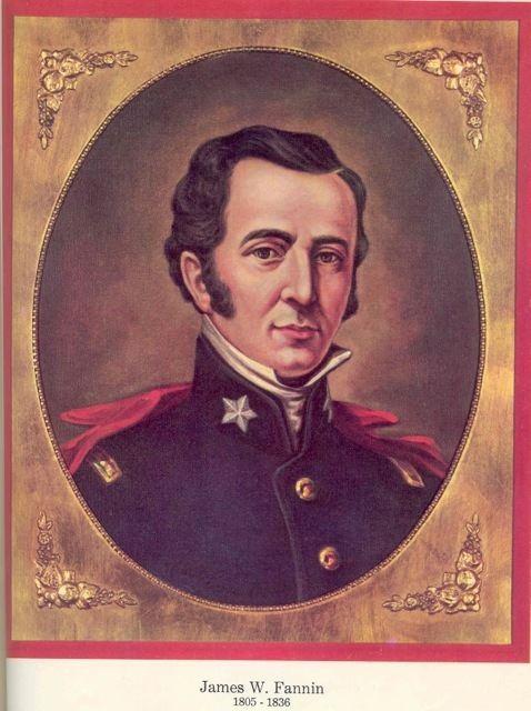 James Fannin Remember Goliad March2Texas