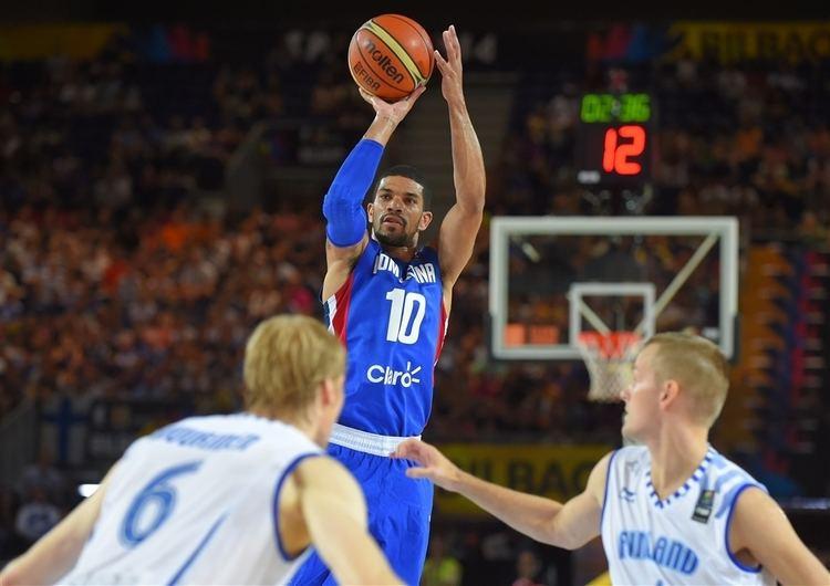 James Feldeine 2014 FIBA Basketball World Cup Finland v Dominican