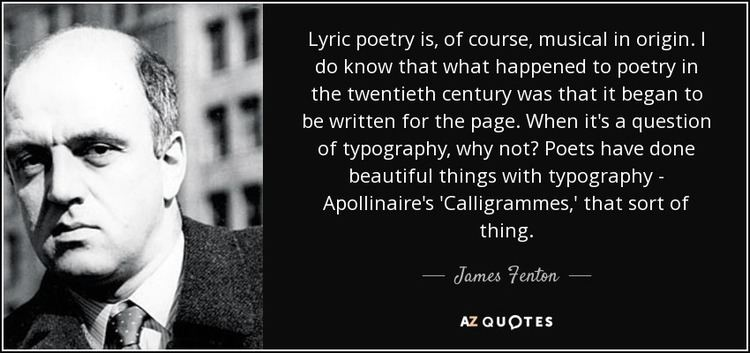 James Fenton TOP 25 QUOTES BY JAMES FENTON AZ Quotes