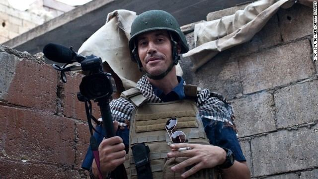 James Foley (journalist) ISIS beheading US journalist James Foley posts video