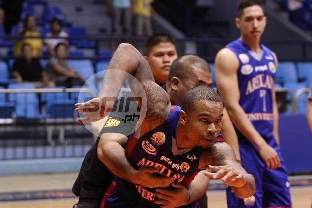 James Forrester (basketball) Commotion mars EACArellano game NCAA SPINPH