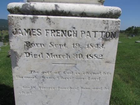 James French Patton Lieut James French Patton 1843 1882 Find A Grave Memorial