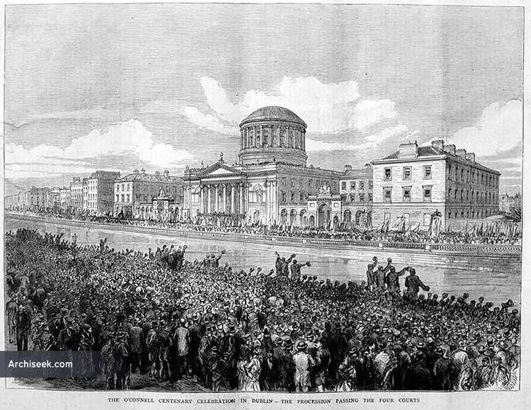 James Gandon 1802 The Four Courts Inns Quay Dublin Architecture of Dublin