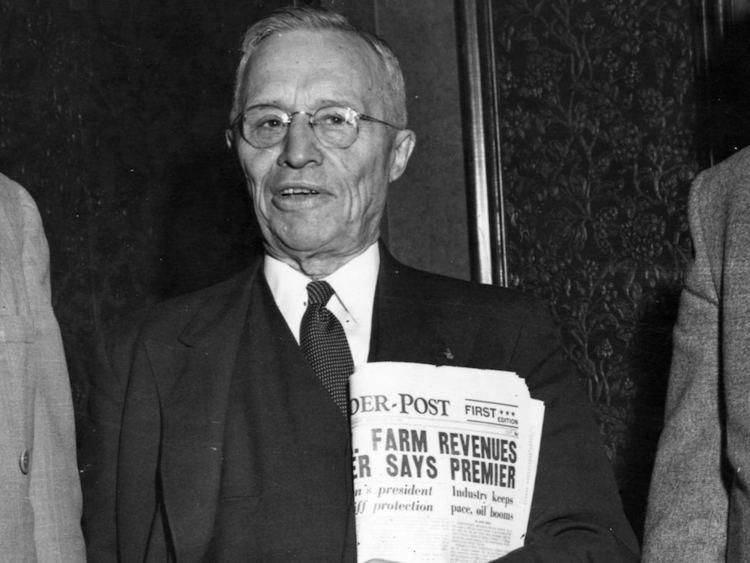 James Gardiner (Scottish politician) Former premier James Gardiner championed welfare of Canadian farmers