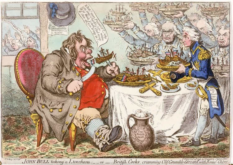 James Gillray The Work of James Gillray guliverlooks