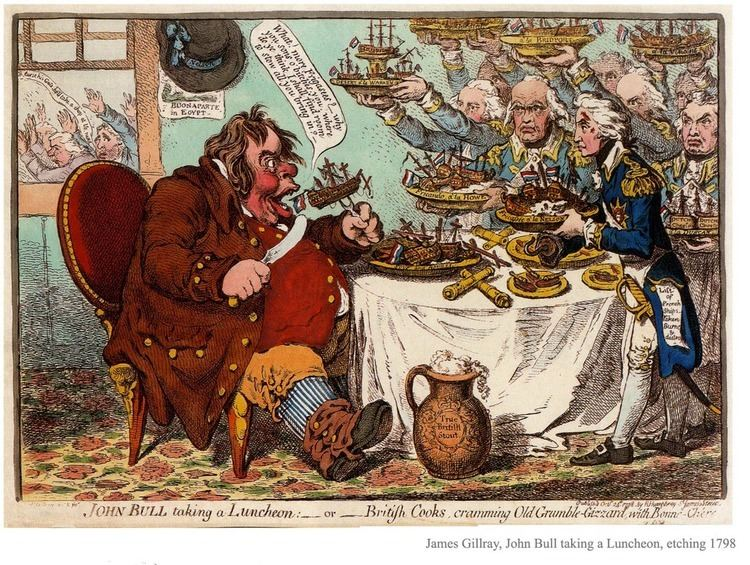 James Gillray The Satirical Cartoons of James Gillray Orwellwasright39s