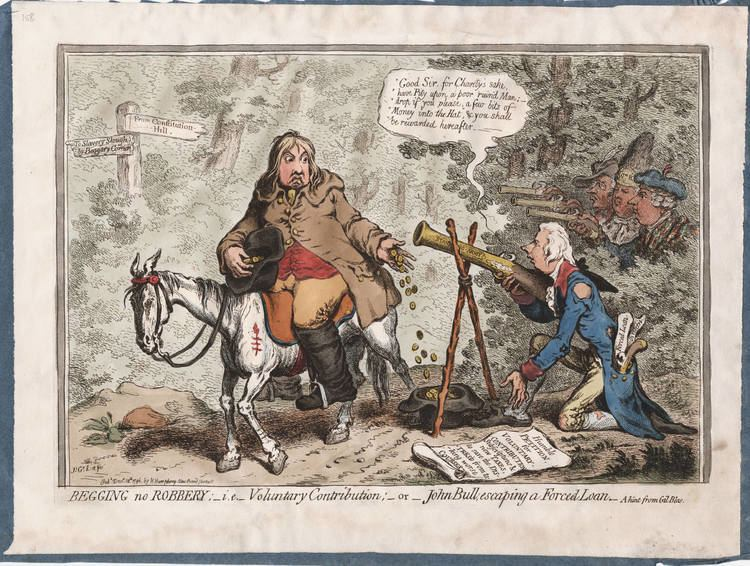 James Gillray James Gillray on War and Taxes during the War against