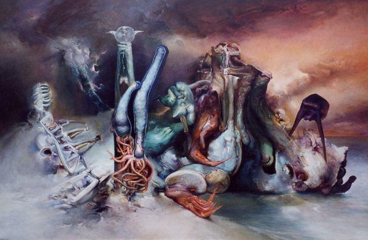 James Gleeson James Gleeson Australian Surrealist Dies Aged 92