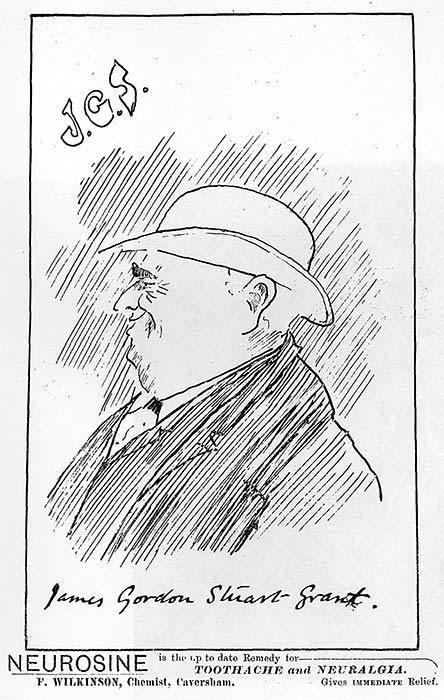 James Gordon Stuart Grant Grant James Gordon Stuart Sketch of James Gordon Stuart Grant