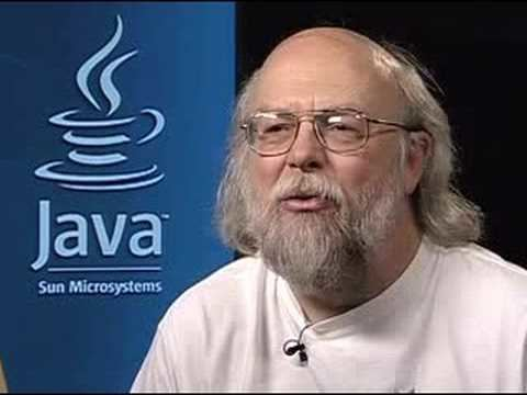 James Gosling James Gosling Thoughts for Students YouTube