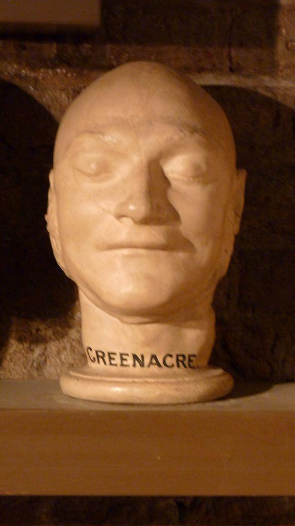James Greenacre James Greenacres Death Mask Norwich Castle Museum Flickr