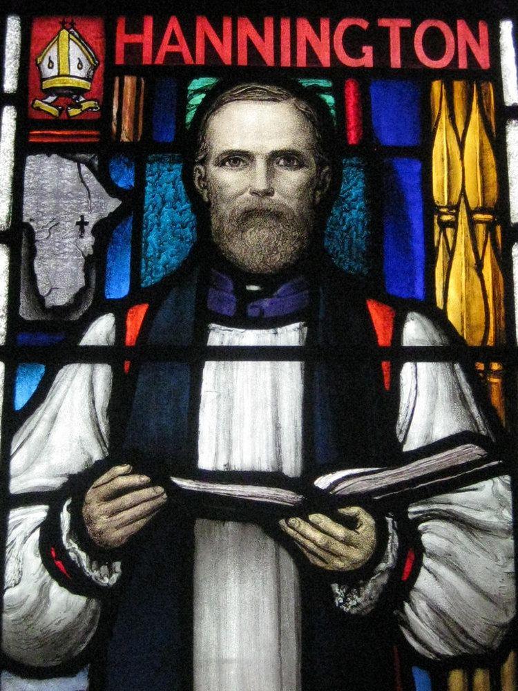 James Hannington Detail of the Bishop James Hannington Window by Napier and
