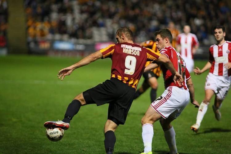 James Hanson (footballer, born 1987) The Midweek Player Focus 65 James Hanson