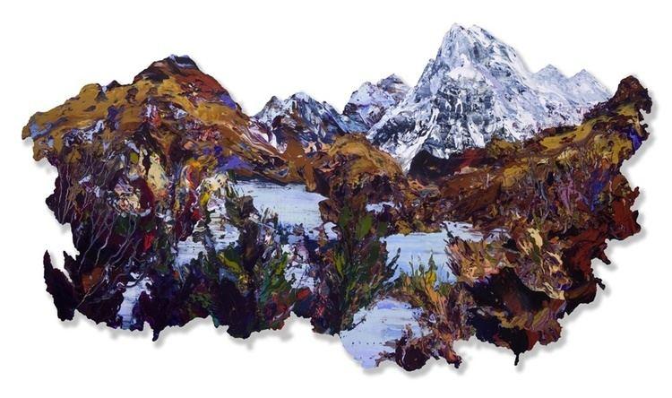 James Hawkins (artist) James Hawkins Rhue Art Cuillins Knoydart Blaven James Hawkins art