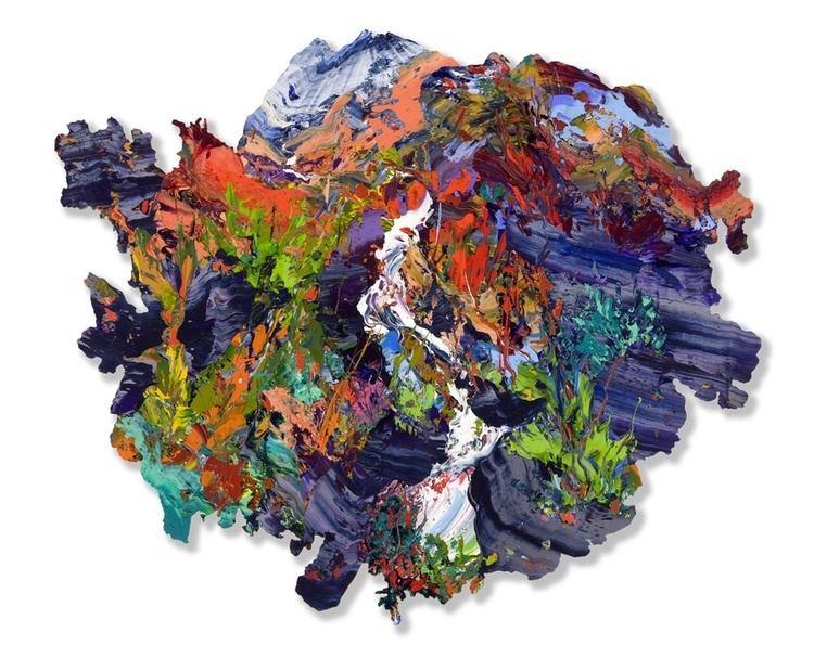 James Hawkins (artist) James Hawkins Rhue Art Cuillins Knoydart Blaven