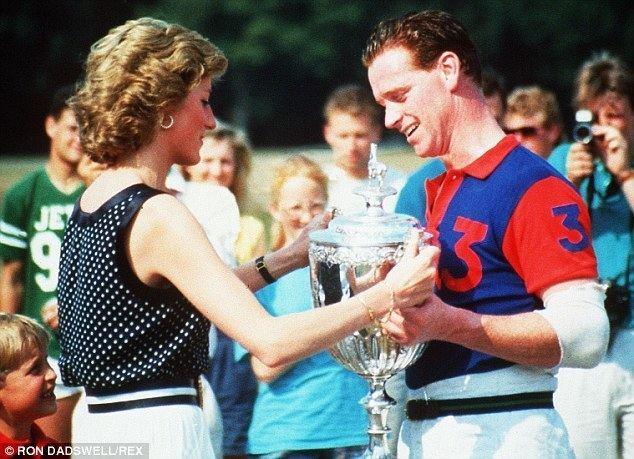 James Hewitt Princess Dianas bodyguard says Prince Harry wont give a monkeys