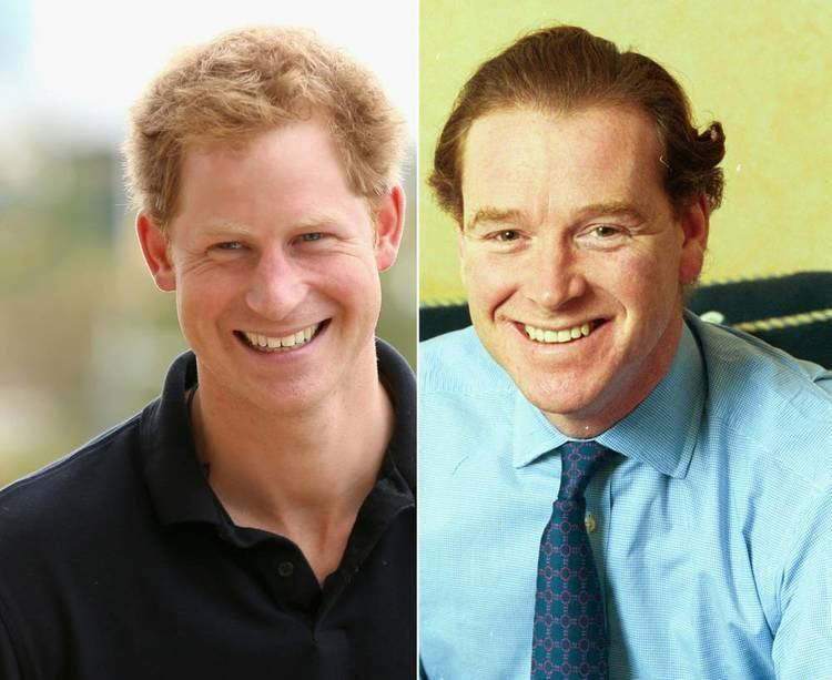 James Hewitt Prince Harry39s father 39may be James Hewitt39 writer claims