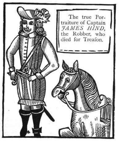 James Hind ExecutedTodaycom 1652 Captain James Hind royalist highwayman