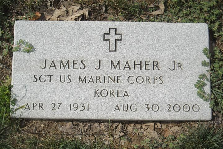 James Joseph Maher Sgt James Joseph Maher Jr 1931 2000 Find A Grave Memorial