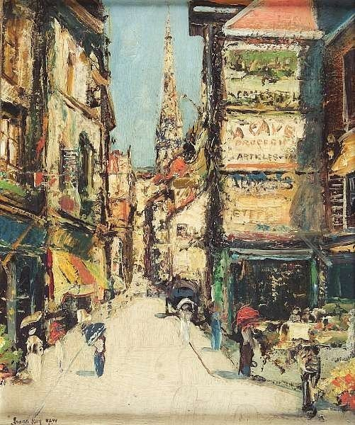 James Kay (artist) James Kay Works on Sale at Auction Biography
