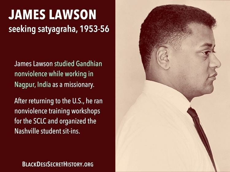 James Lawson (American activist) The Secret History of South Asian and African American